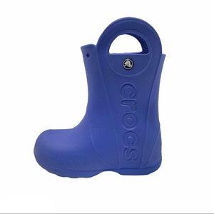CROCS Kid's Handle It Rai Boots Sea Blue Size 11